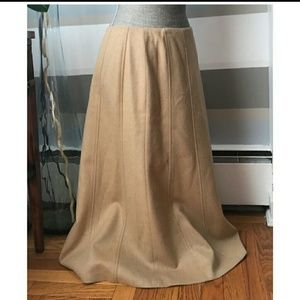 Talbot's Camel Hair Tan Skirt